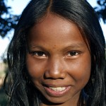Jeune fille Malgache