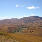 Paysage des hautes terres Tanety